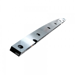 Shearing blade for cutting hot rolled steel plate