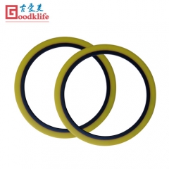 Loose rubber rings for coil slitter line