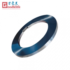 Steel stripper rings for coils slitting line